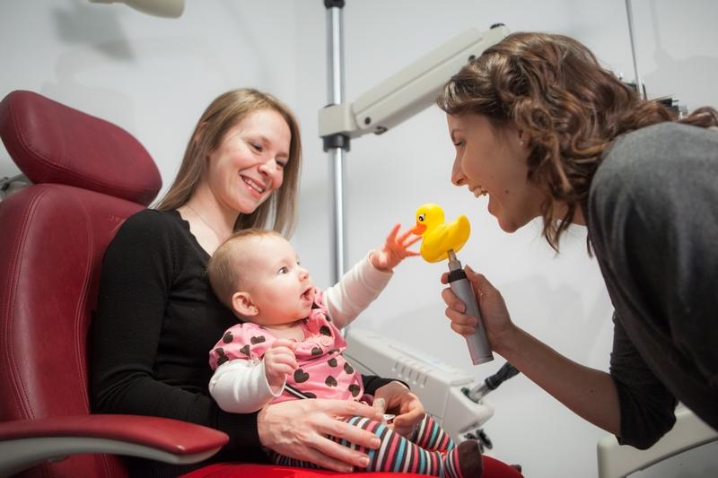 Vision binoculaire, Orthoptique et optométrie pédiatrique